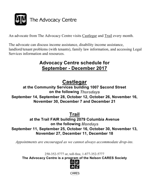 Microsoft Word - An advocate from The Advocacy Centre visits Castlegar and Trail every month.docx(1).pdf_page_1
