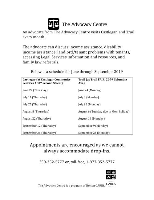 2019 July - September Castlegar Trail schedule.pdf_page_1