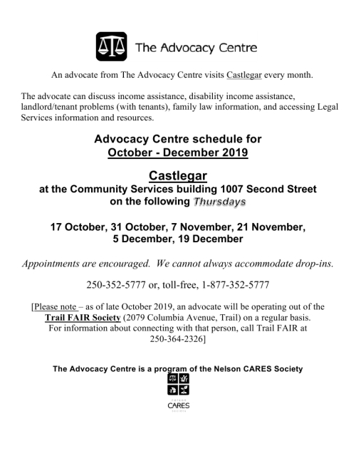 2019 October - December Trail Castlegar schedule.pdf_page_1